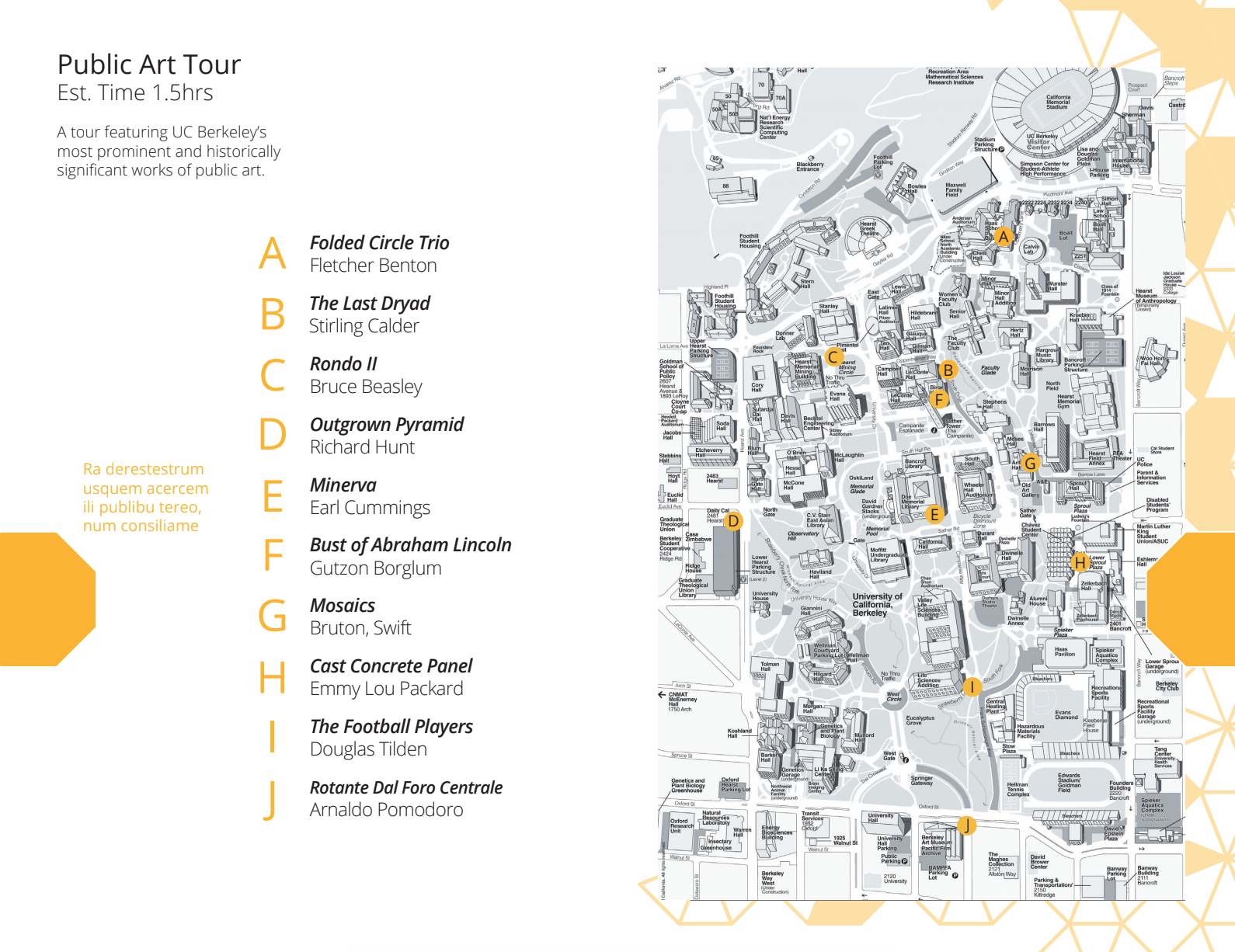 Campus Map Public Art Tour Still