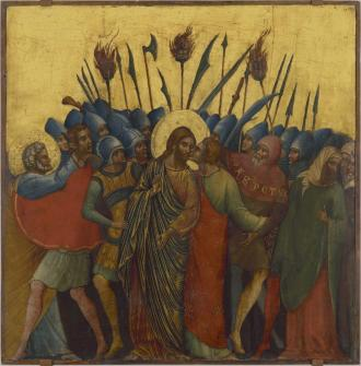 "Paolo Veneziano's ""The Capture of Christ"" is a highlight of the Berkeley Art Museum and Pacific Film Archive show that covers five centuries of European paintings."