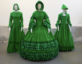 garments made by the artist