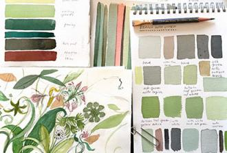 SOLD OUT - Local Color: A Watercolor Workshop with Mimi Robinson