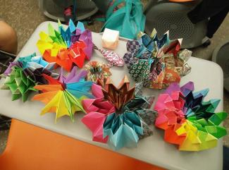 Creative Applications to Life in Origami