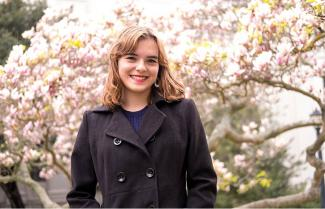 UC Berkeley student Eleanor Hammond explores feminism with biographical musical