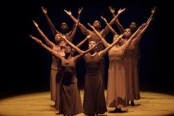 """Revelations,"" choreographed by Alvin Ailey (Alvin Ailey American Dance Theater photo by Paul Kolnik)"